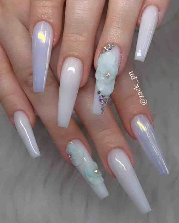 long coffin nail 2020013133 - 80+ Charming Long Coffin Nail Designs in 2020