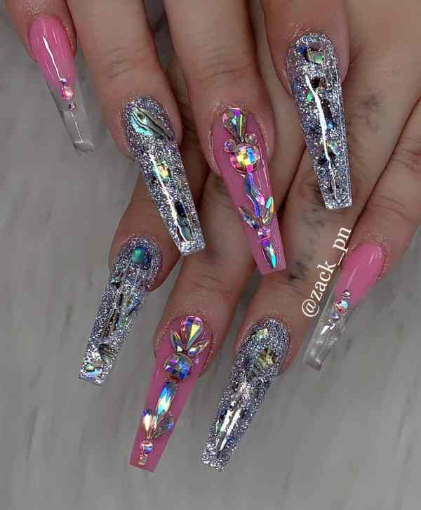 long coffin nail 2020013151 - 80+ Charming Long Coffin Nail Designs in 2020