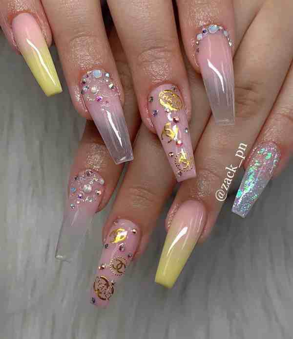 long coffin nail 2020013172 - 80+ Charming Long Coffin Nail Designs in 2020