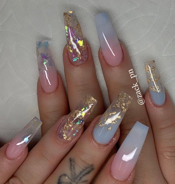 long coffin nail 2020013176 - 80+ Charming Long Coffin Nail Designs in 2020