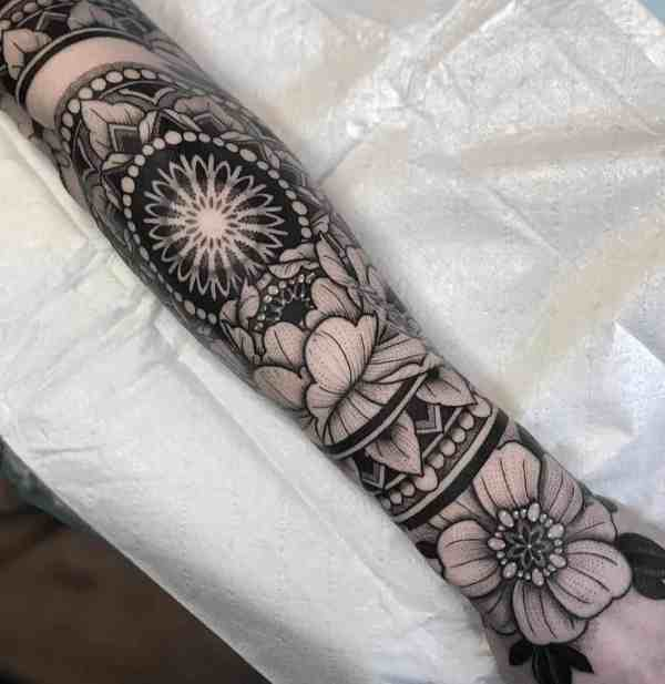 sleeve tattoos 2020012824 - 50+ Beautiful Sleeve Tattoos for Men and Women