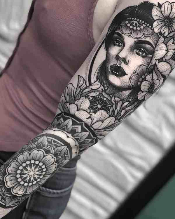 sleeve tattoos 2020012831 - 50+ Beautiful Sleeve Tattoos for Men and Women