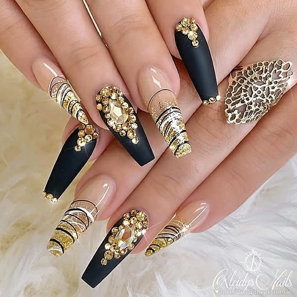 winter nail 20200201101 - 190+ Amazing Spring And Winter Nail Designs Ideas