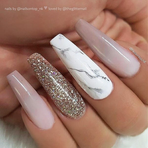 winter nail 20200201114 - 190+ Amazing Spring And Winter Nail Designs Ideas