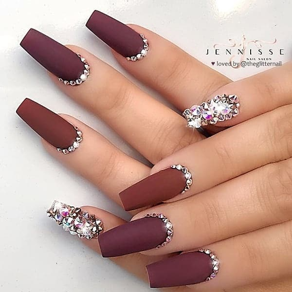 winter nail 20200201122 - 190+ Amazing Spring And Winter Nail Designs Ideas
