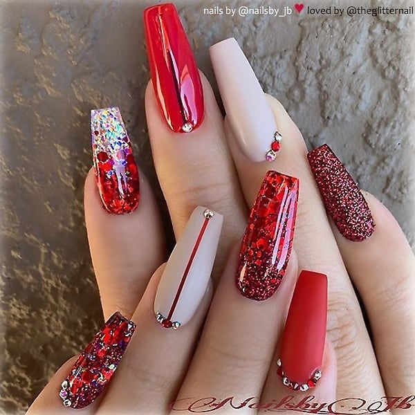 winter nail 20200201126 - 190+ Amazing Spring And Winter Nail Designs Ideas