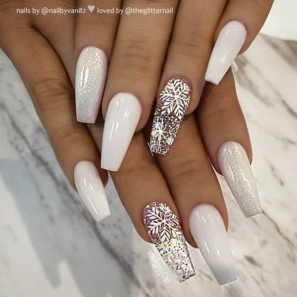 winter nail 20200201132 - 190+ Amazing Spring And Winter Nail Designs Ideas