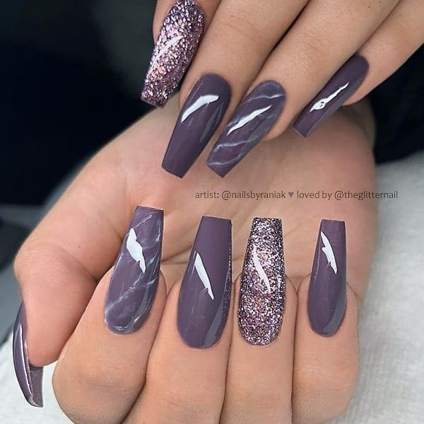 winter nail 20200201154 - 190+ Amazing Spring And Winter Nail Designs Ideas