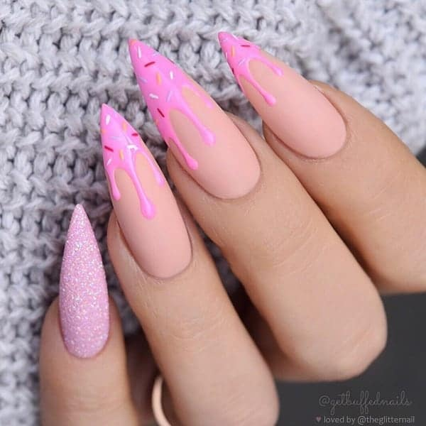 winter nail 20200201156 - 190+ Amazing Spring And Winter Nail Designs Ideas