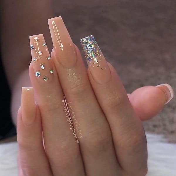winter nail 20200201160 - 190+ Amazing Spring And Winter Nail Designs Ideas