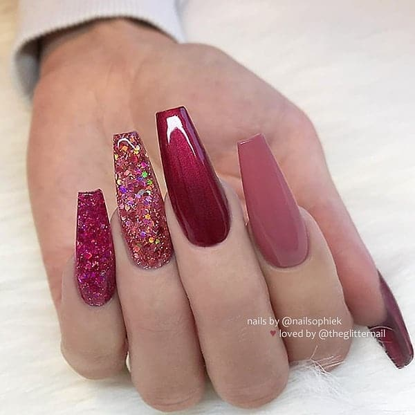 winter nail 20200201180 - 190+ Amazing Spring And Winter Nail Designs Ideas