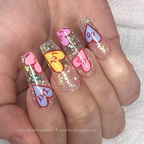 winter nail 2020020123 - 190+ Amazing Spring And Winter Nail Designs Ideas