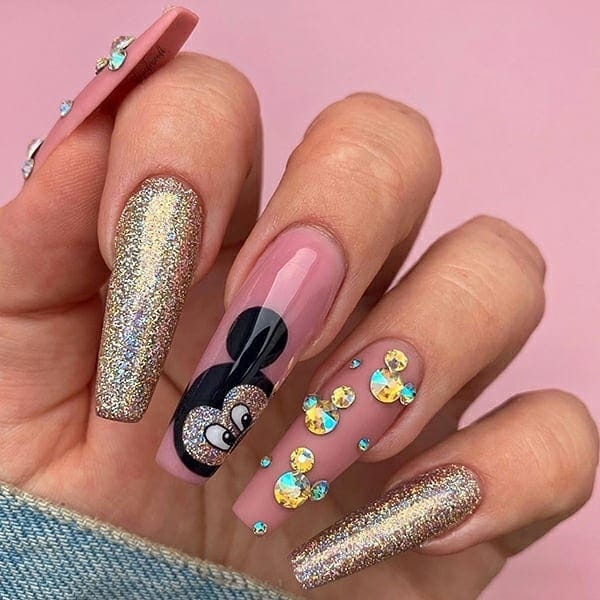 winter nail 2020020141 - 190+ Amazing Spring And Winter Nail Designs Ideas