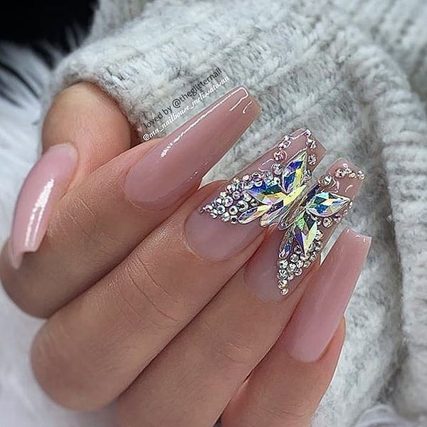 winter nail 2020020152 - 190+ Amazing Spring And Winter Nail Designs Ideas
