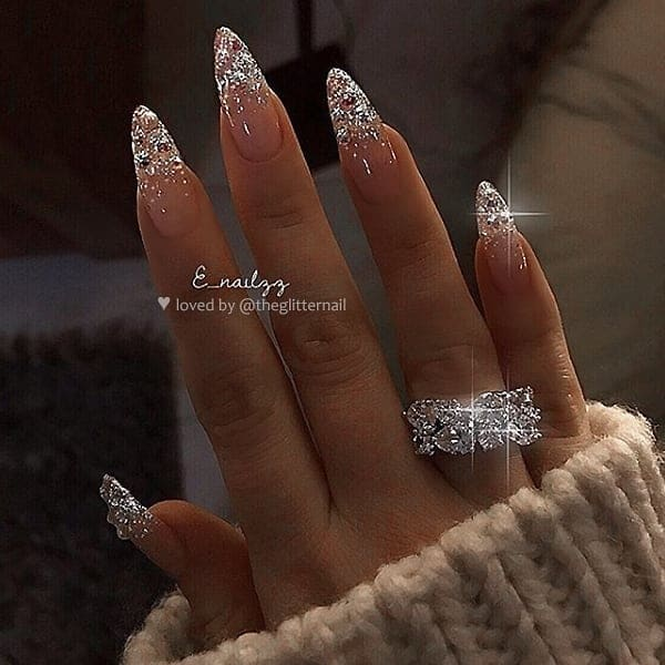 winter nail 2020020155 - 190+ Amazing Spring And Winter Nail Designs Ideas