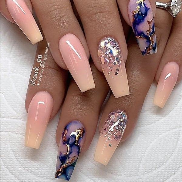 winter nail 2020020164 - 190+ Amazing Spring And Winter Nail Designs Ideas