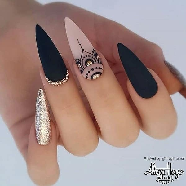winter nail 2020020167 - 190+ Amazing Spring And Winter Nail Designs Ideas