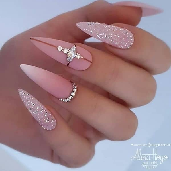 winter nail 2020020168 - 190+ Amazing Spring And Winter Nail Designs Ideas