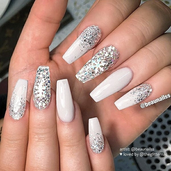 winter nail 2020020177 - 190+ Amazing Spring And Winter Nail Designs Ideas