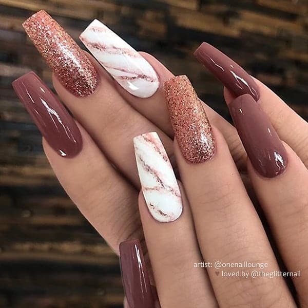 winter nail 2020020182 - 190+ Amazing Spring And Winter Nail Designs Ideas