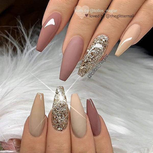 winter nail 2020020197 - 190+ Amazing Spring And Winter Nail Designs Ideas