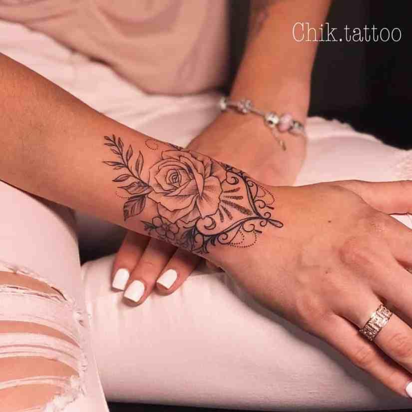 Arm Tattoo 2020030111 - Trendy Arm Tattoo Ideas for Women
