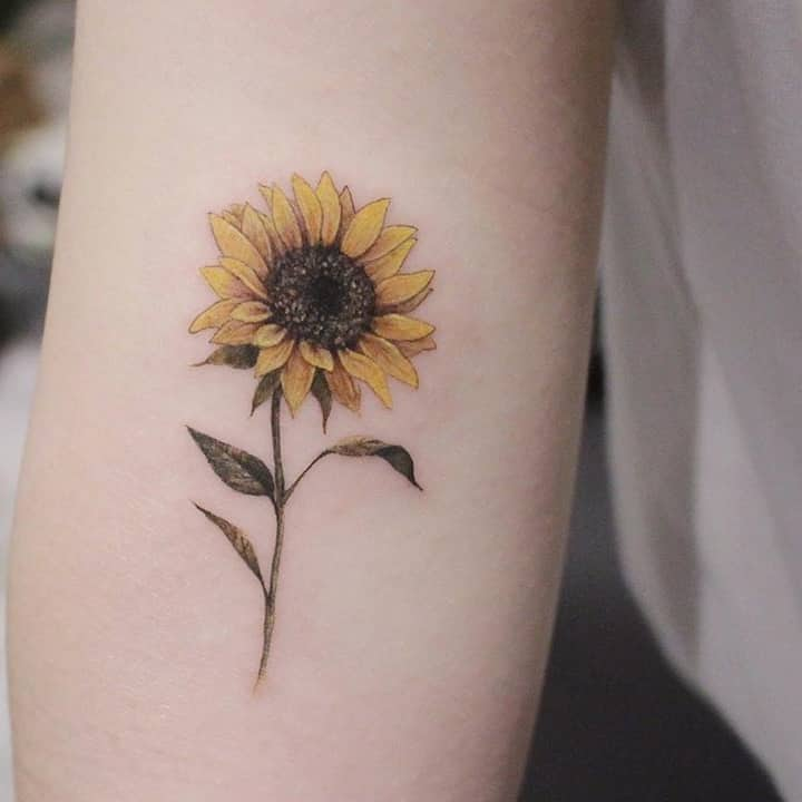 Sunflower Tattoo Designs 2020061213 - Inspirational Sunflower Tattoo Designs 2020