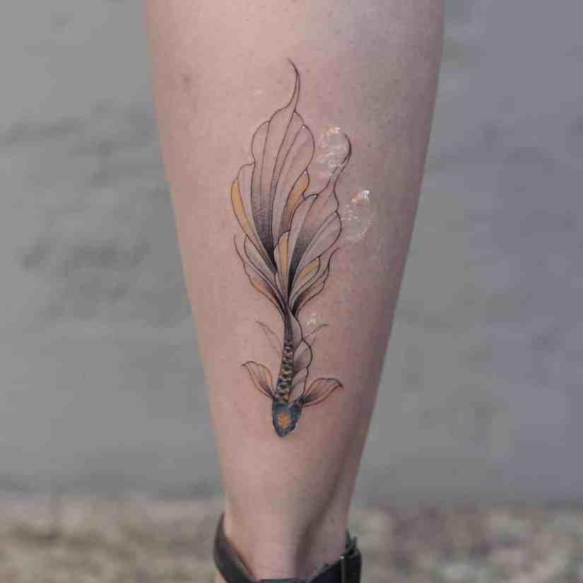 fish tattoo 2020041713 - Most Beautiful Fish Tattoo Ideas 2020
