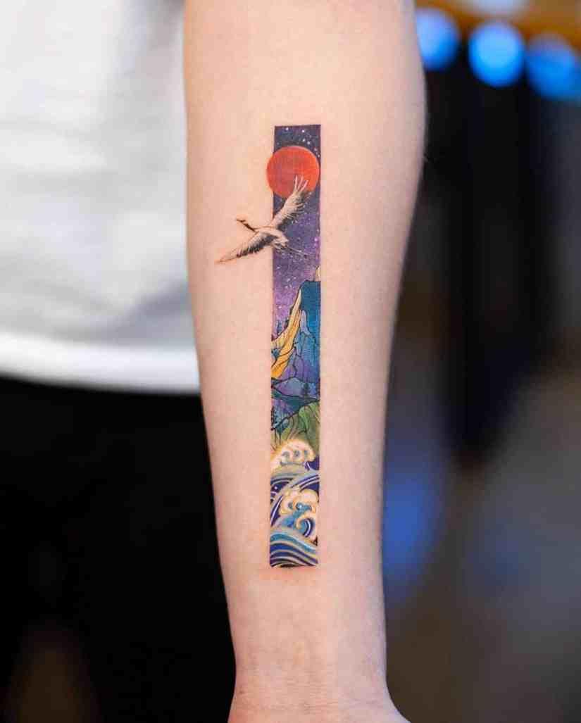 frame tattoo 2020050211 - Exquisite Frame Tattoo Designs Shock You