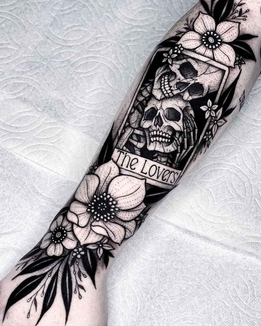 skull tattoo 2020070510 - 10 Best Skull Tattoo Designs and Meaning