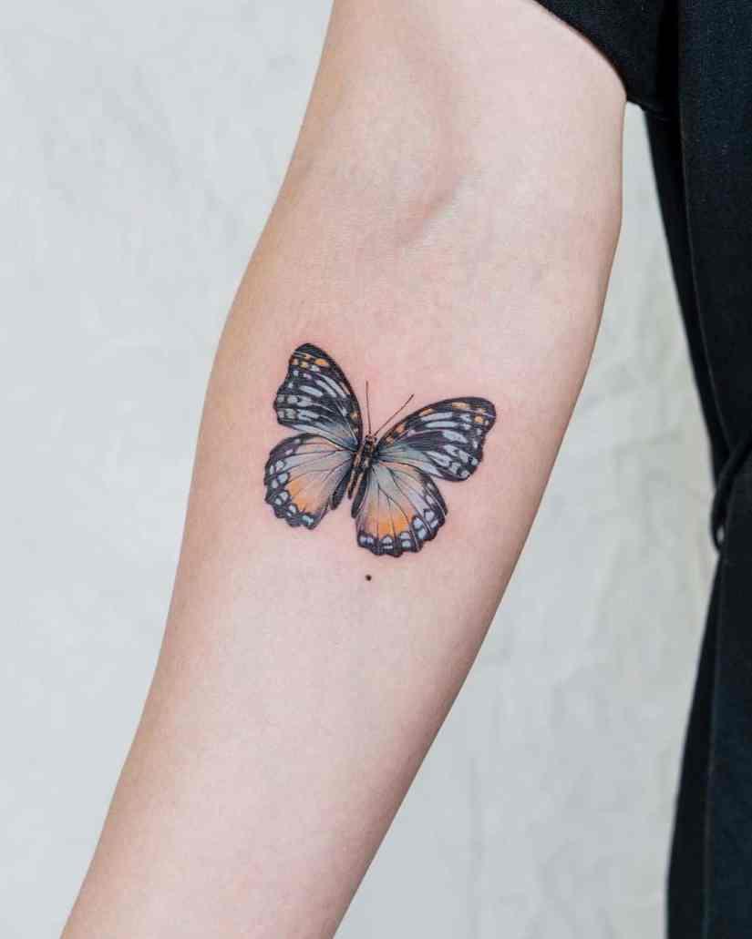Butterfly tattoo designs 2020080202 - 20+ Best Butterfly Tattoo Designs 2020