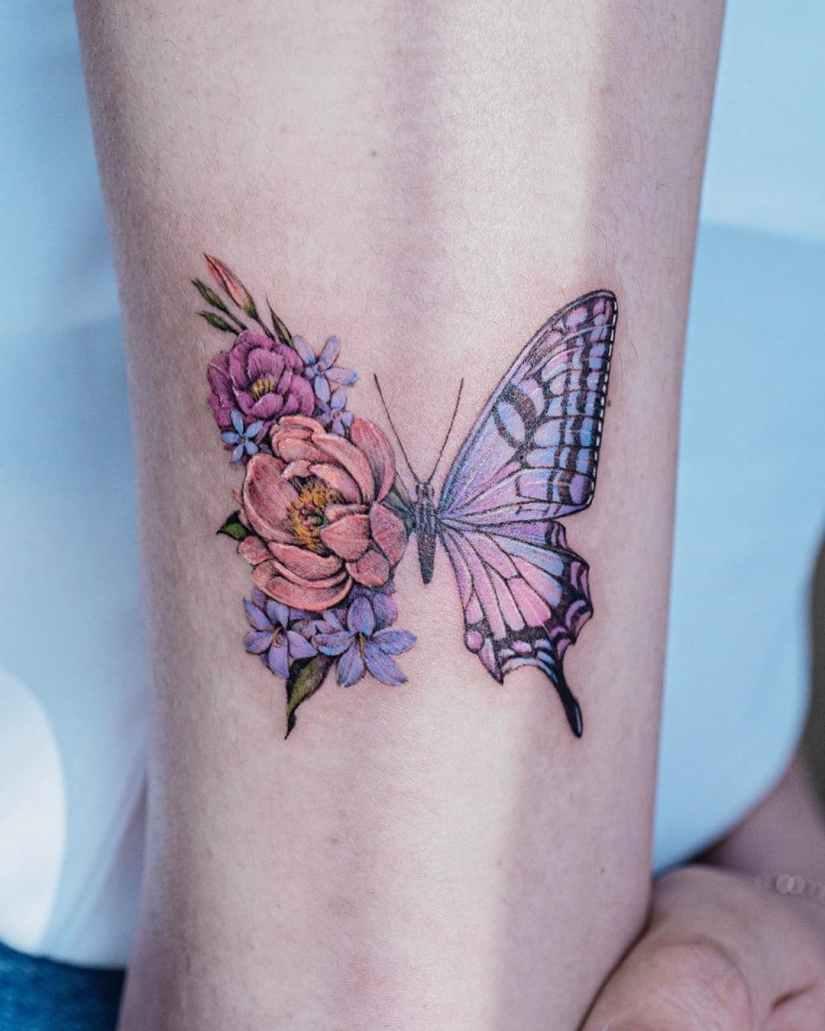 Butterfly tattoo designs 2020080210 - 20+ Best Butterfly Tattoo Designs 2020