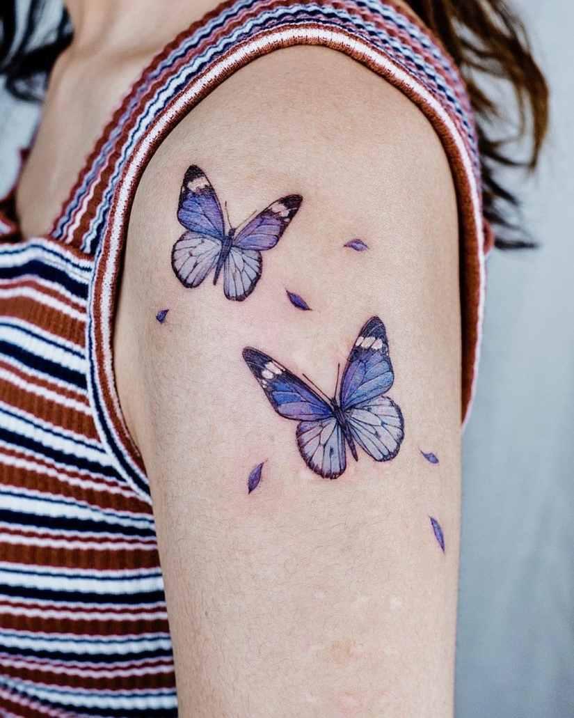 Butterfly tattoo designs 2020080218 - 20+ Best Butterfly Tattoo Designs 2020
