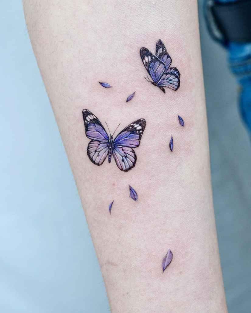 Butterfly tattoo designs 2020080223 - 20+ Best Butterfly Tattoo Designs 2020