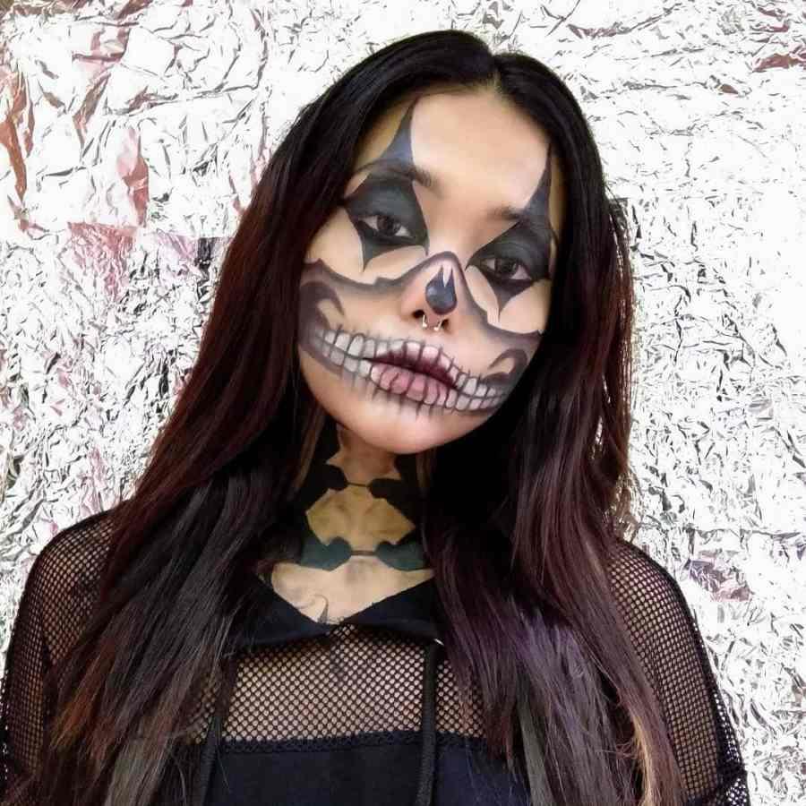 Halloween Skull Makeup 2020083002 - 10+ Scary Halloween Skull Makeup Ideas