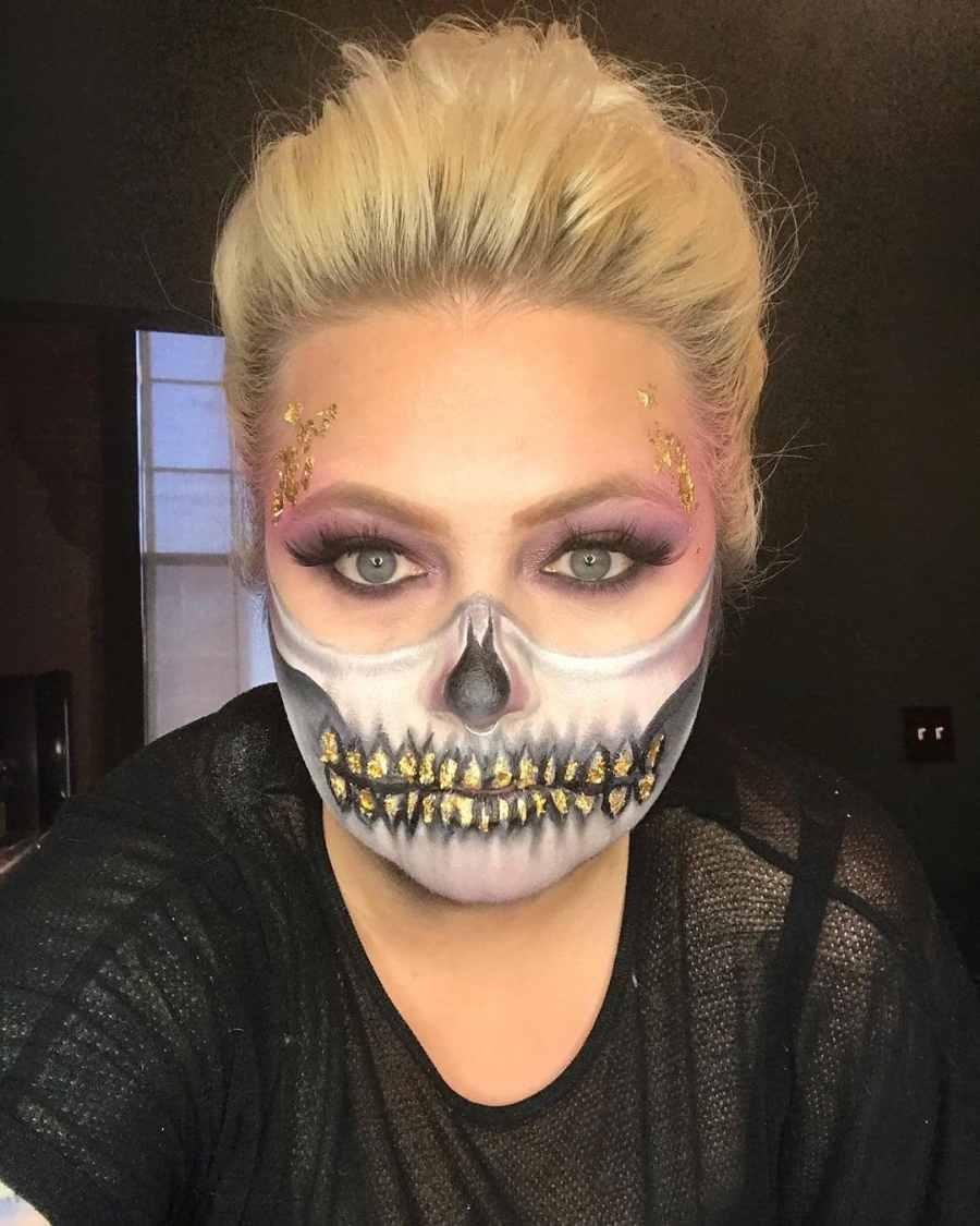 Halloween Skull Makeup 2020083014 - 10+ Scary Halloween Skull Makeup Ideas