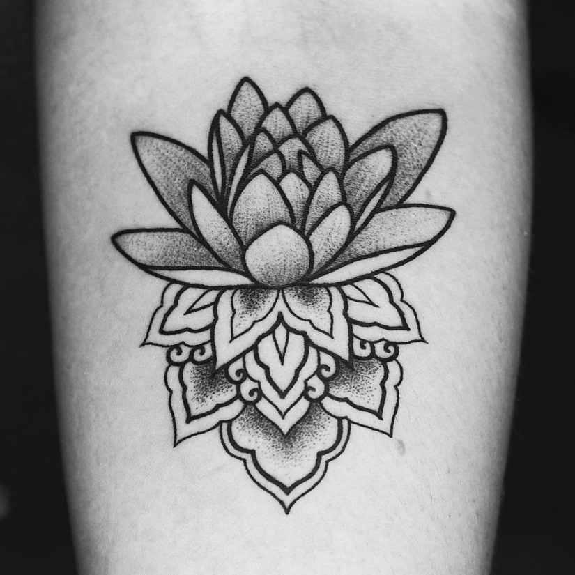 Lotus Tattoos 2020081904 - 20+ Amazing Lotus Tattoos & Meanings