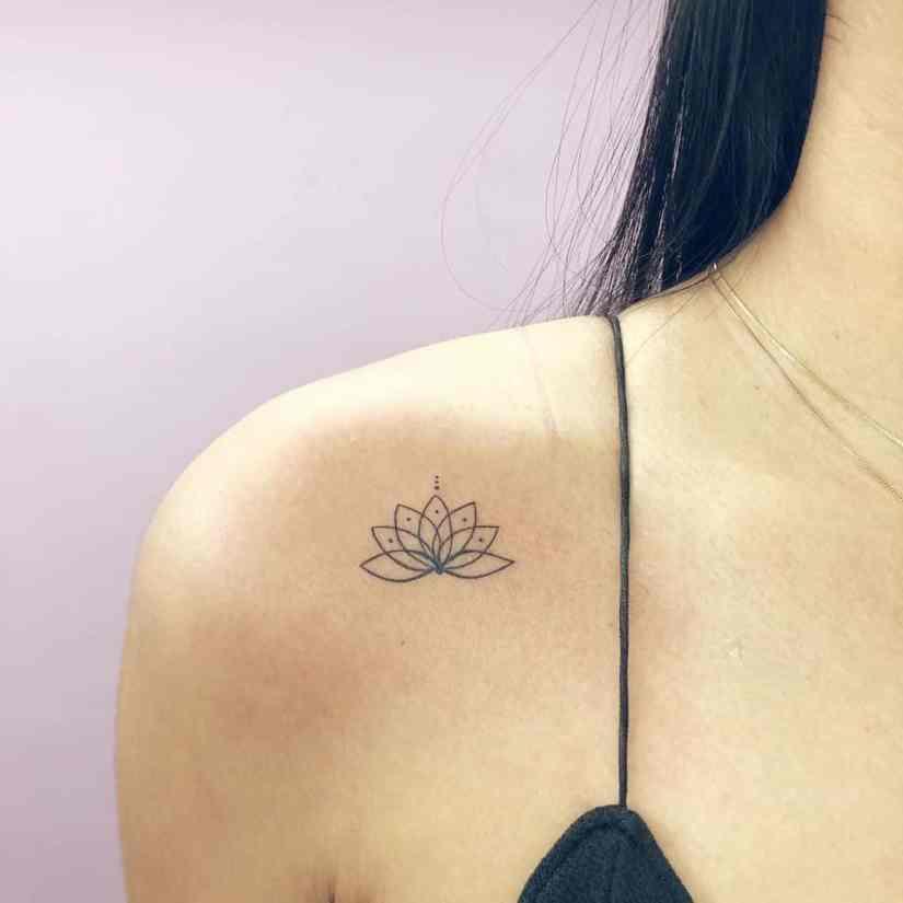 Lotus Tattoos 2020081908 - 20+ Amazing Lotus Tattoos & Meanings