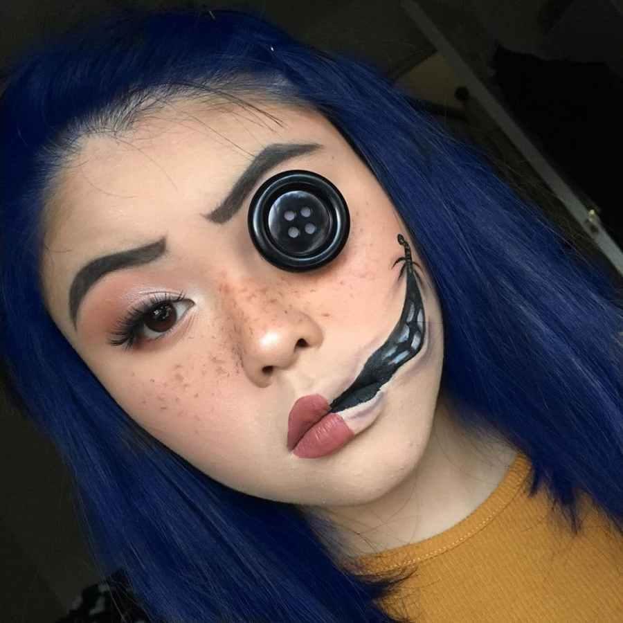 Coraline Makeup 2020090305 - Other Coraline Makeup for Halloween