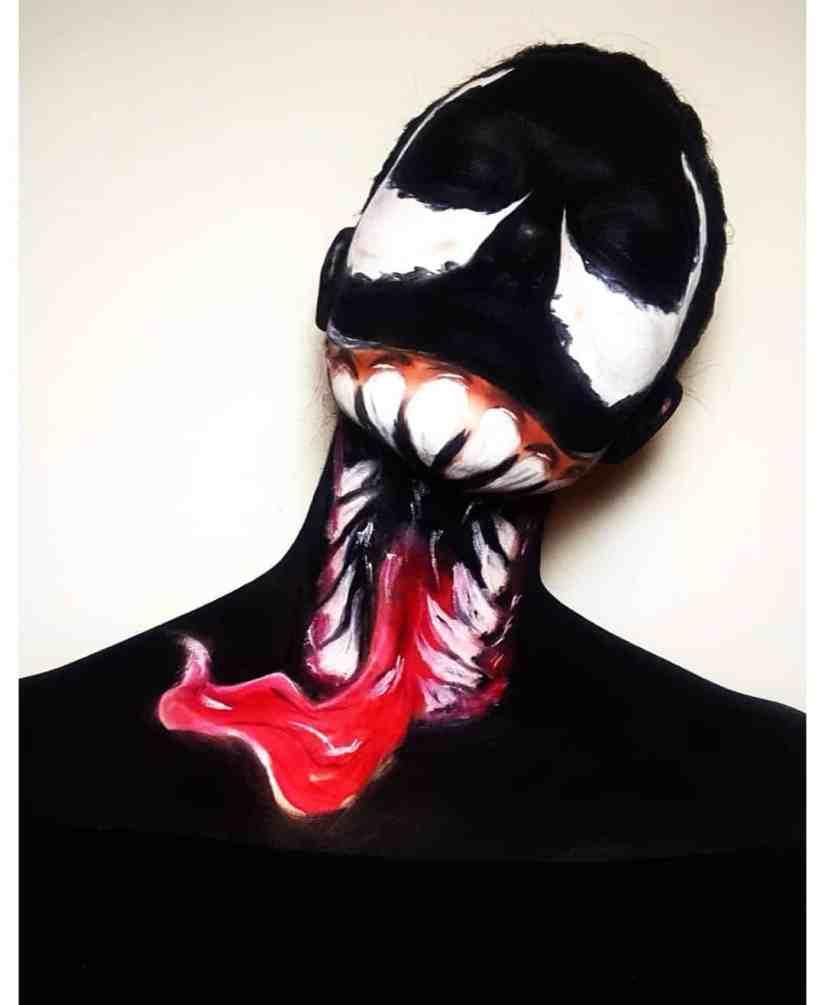 Halloween Venom Makeup 2020100501 - 10+ Halloween Venom Makeup Extreme Fear