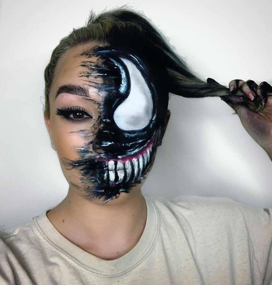 Halloween Venom Makeup 2020100503 - 10+ Halloween Venom Makeup Extreme Fear