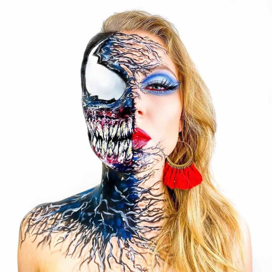 Halloween Venom Makeup 2020100507 - 10+ Halloween Venom Makeup Extreme Fear