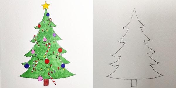Draw-Christmas-Tree-Decorate-20201128