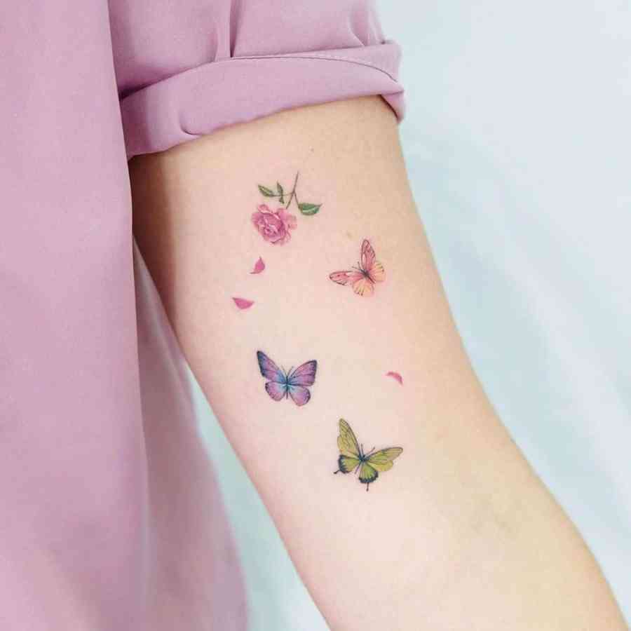 Small Butterfly Tattoo 2020110911 - 20+ Cute Small Butterfly Tattoo Designs and Ideas