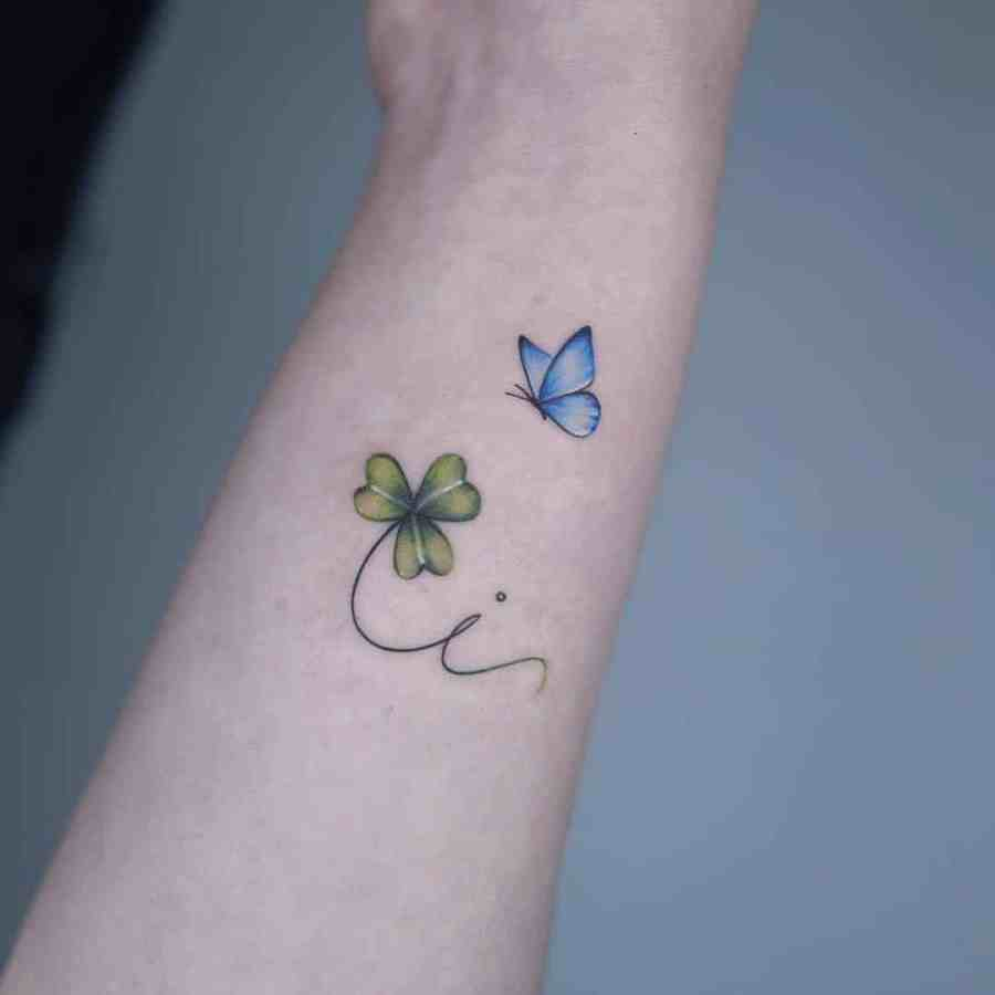 Small Butterfly Tattoo 2020110917 - 20+ Cute Small Butterfly Tattoo Designs and Ideas