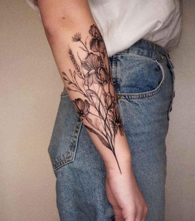 Poppy Tattoo 2020121401 - 10+ Best Poppy Tattoo Designs You'll Love