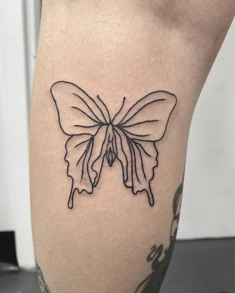 Simple Butterfly Tattoo 2021022602 - 20+ Simple Butterfly Tattoo Designs to Inspire You