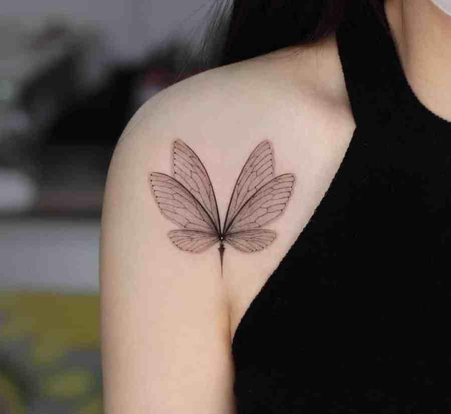 Wing Tattoo 2021031607 - 11 Wing Tattoo Ideas Emerge Inspiration