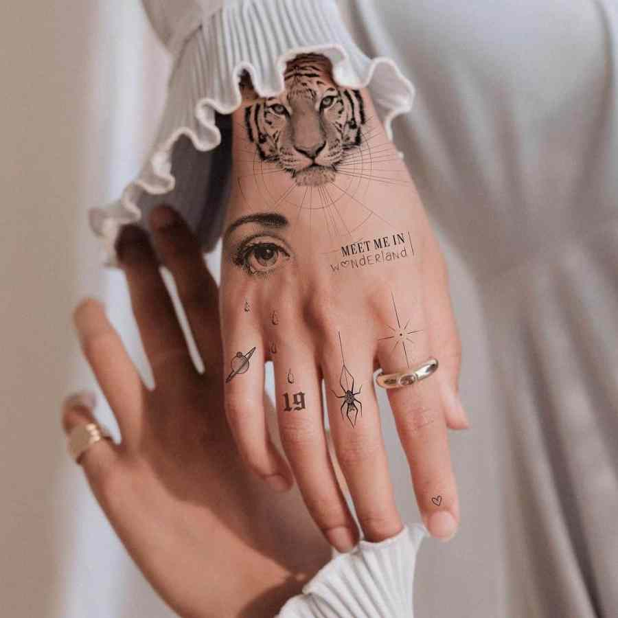 Finger Tattoos 2021050203 - The Best Finger Tattoos to Impress You