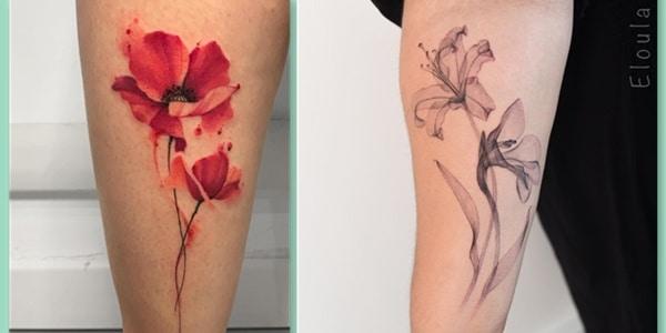 August Birth Flower Tattoos-20210729
